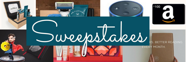New Feature: Sweepstakes